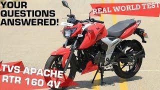 Download Lagu TVS Apache RTR 160 4V - Real World Road Test   ZigWheels.com Mp3