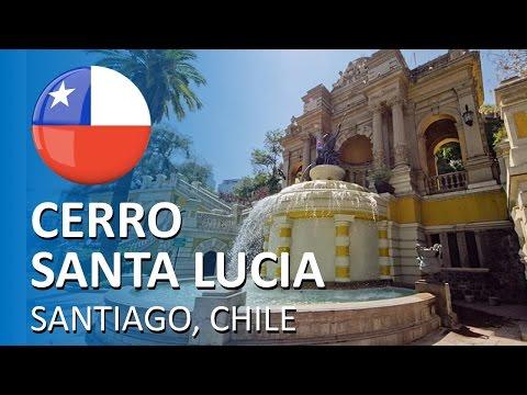 [FB LIVE] Cerro Santa Lucia, em Santiago, Chile