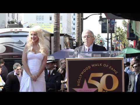 Christina Aguilera Walk of Fame Ceremony