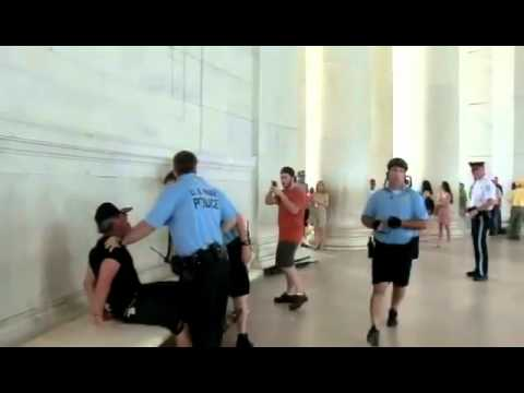 Gingrigh Washington Jefferson - Make Viral! Adam Kokesh, Edward Dickey, and others were just arrested for dancing at the Jefferson Memorial. They are being held at Anacostia Station (Distri...