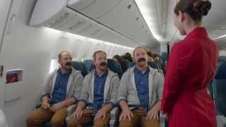 Video Delta's New In Flight Safety Video - Featuring Sean Ringgold MP3, 3GP, MP4, WEBM, AVI, FLV Agustus 2018