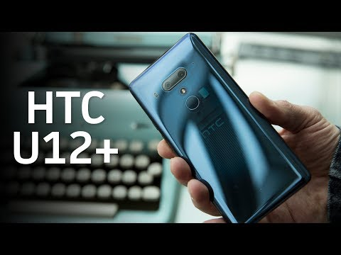 HTC U12+: A dual camera and edge sense features (видео)