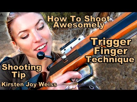 Trigger Finger Technique – How To Shoot Awesomely | Pro Shooting Tips #2