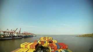 Time-lapse (120x, 60fps): departure Nhava Sheva (M
