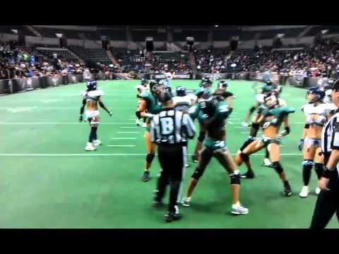 LFL – Philadelphia Passion Lingerie Football Touchdown Dance