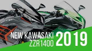 3. New 2019 Kawasaki ZZR1400 Performance Sport