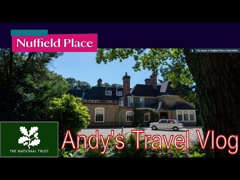 Andy's National Trust Travel Blogs: Nuffield Place, home of William Morris car maker