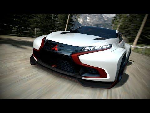 Mitsubishi Concept XR-PHEV Evolution Vision Gran Turismo Debuts