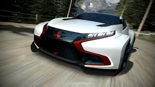 Mitsubishi Concept XR-PHEV Evolution Vision For Gran Turismo 6: Video