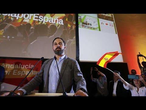 Ανδαλουσία: Πρώτοι οι σοσιαλιστές, δυναμικά οι ακροδεξιοί…