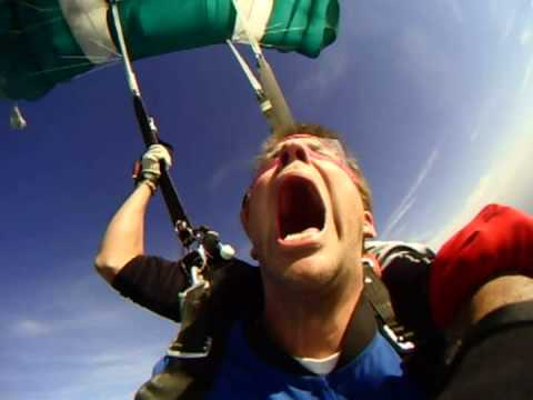 I Don't think this guy will be skydiving again.