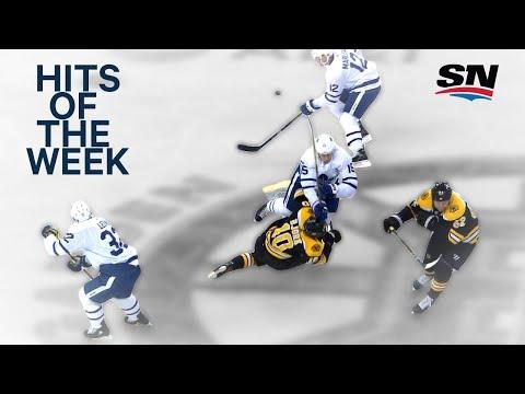 Video: Hits of the Week: Massive Matt Martin collision
