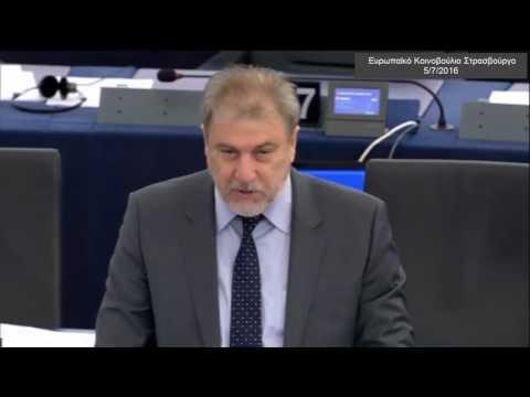 Νότης Μαριάς στην Ευρωβουλή: Η νέα Frontex υφαρπάζει την εθνική μας κυριαρχία