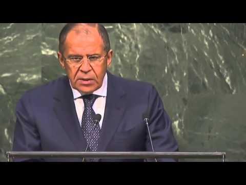Выступление Сергея Лаврова на 70-ой Генеральной Ассамблее ООН (видео)