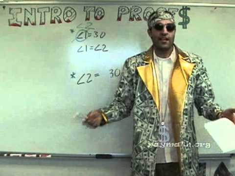 yaymath - Math money, baby! In this important lesson, we introduce the concept of proofs in Geometry. We start with a quick run through of some common properties, then...
