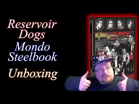 Reservoir Dogs Mondo Steelbook Blu-Ray Unboxing