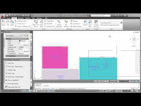 AutoCAD Draftsman Tutorials AutoCAD Architecture Room Tag Text Style