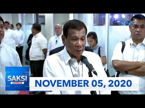 Saksi Express: November 5, 2020 [HD]