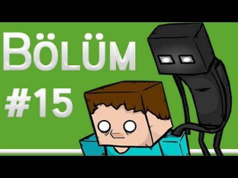 Burak Minecraft'ta Bölüm 15 - Banyo Yapımı Ve Pistonlu Sinema Kamerası