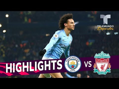 Manchester City Vs. Liverpool: 2-1 Goals & Highlights | Premier League | Telemundo Deportes