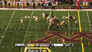 CJ Fiedorowicz vs Minnesota (2013)