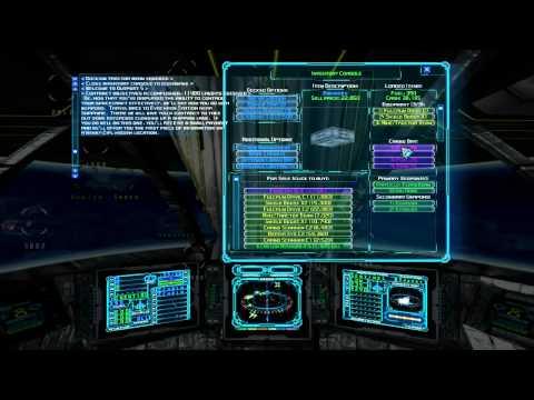 RedFalcon Plays Evochron Mercenary   Episode 04 Shipbuilding and Mining