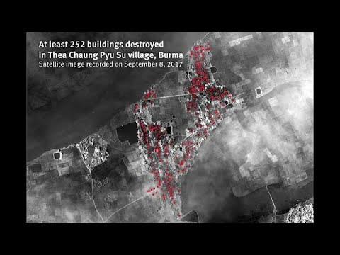 Μιανμάρ: Τακτικής «καμένης γης» σε βάρος των Ροχίνγκια