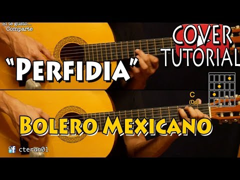 Perfidia - Bolero Mexicano Cover/Tutorial Guitarra