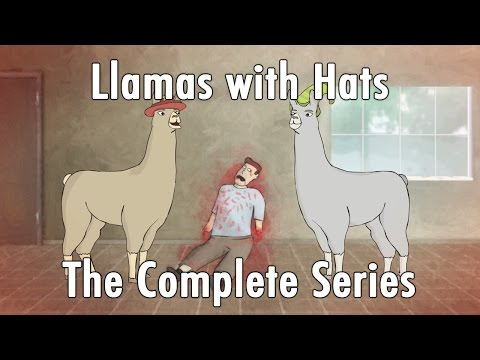 Llamas with Hats 1-12: The Complete Series