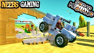 Scrap Mechanic - Wonderful Wallbuster Obstacle Course!