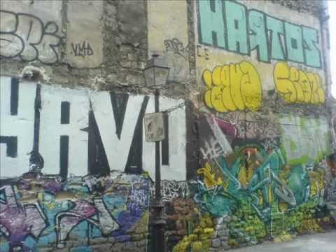 Graffitis du 75020 - vol.2 - Quartiers Nord