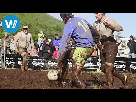 Die Schlammfußballer von Island (360° - GEO Reportage)