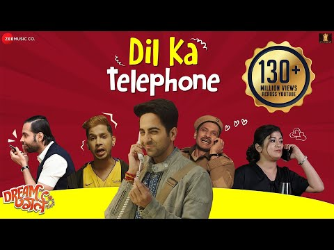Dil Ka Telephone - Dream Girl | Ayushmann Khurrana |Meet Bros Ft.Jonita Gandhi& Nakash Aziz | Kumaar