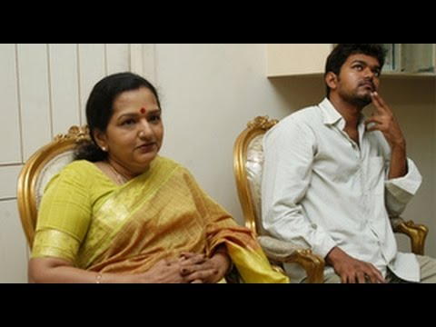 Video Vijay's mother shobha clears, reason behind Vijay's calm download in MP3, 3GP, MP4, WEBM, AVI, FLV January 2017