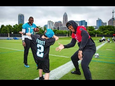 Devin Funchess grants Cam's Carolina Panthers Wish  | Make-A-Wish®
