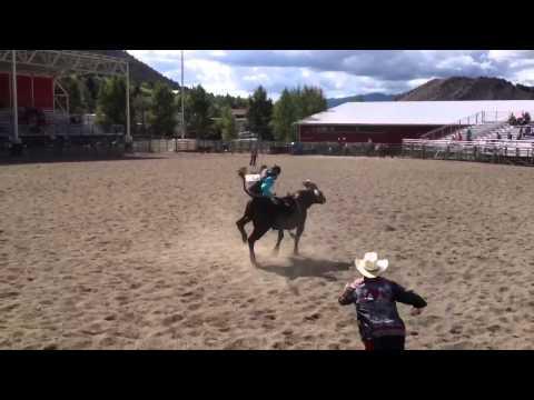 Jackson Hole Wyoming High School Rodeo Quentyn Jenkins.