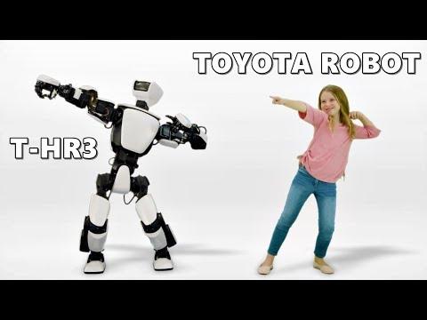 Toyota, robot, T-HR3