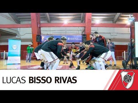 Lucas Bisso Rivas, capitán del equipo campeón