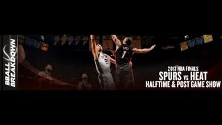2013 NBA Finals Game 6 Halftime And Post Game Show: #Spurs At #Heat