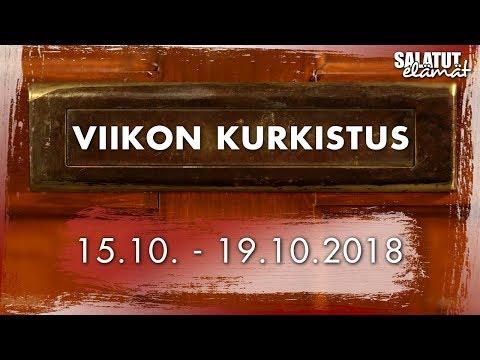 15.10. - 19.10.2018   Viikon kurkistus  Salatut elämät