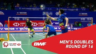 Download Video R16 | MD | ONG/TEO (MAS) vs LI/LIU (CHN) [2] | BWF 2018 MP3 3GP MP4