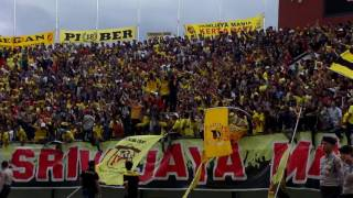 Sriwijaya Mania Beraksi Saat Sriwijaya FC VS Barito Putera 13 mei 2017