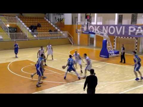 20. kolo: KK Novi Pazar – KK Zeleznicar 82:75
