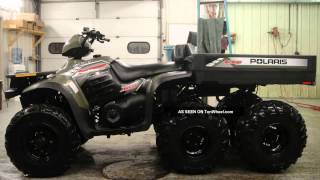 7. polaris sportsman 6x6