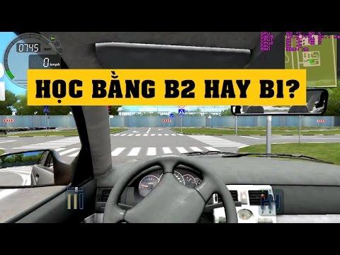 [Terocket] - Nên học bằng lái xe ô tô B1 hay thi bằng lái xe ô tô B2? - Vlog #6 ✔