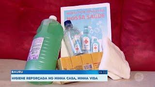 Cinco mil famílias sao beneficiadas com kits de higiene
