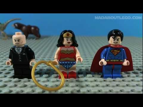 Vidéo LEGO DC Comics Super Heroes 6862 : Superman contre Lex Luthor