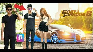 Nonton PicsArt Editing Fast and Furious 8 Movie poster || PicsArt latest Editing 2017 || PicsArt Cb Editing Film Subtitle Indonesia Streaming Movie Download
