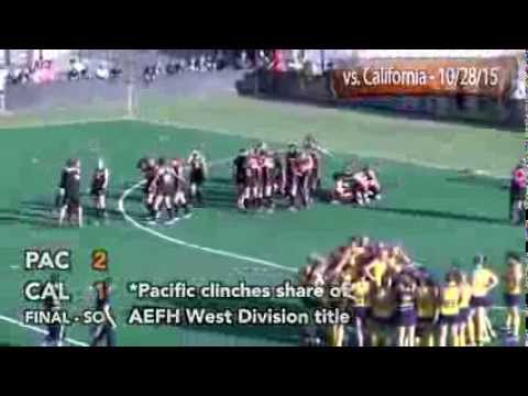 HIGHLIGHTS: Women's Field Hockey vs. Cal - 10/28/15