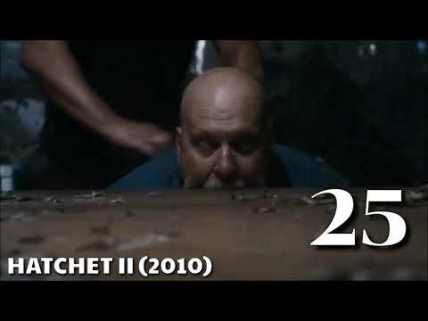 HATCHET (2006 - 2017) Death Count